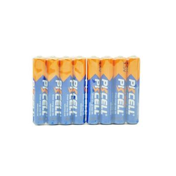 AAAA Alkaline Batteries 1.5v primary battery model lr61 count:Pcs (8)