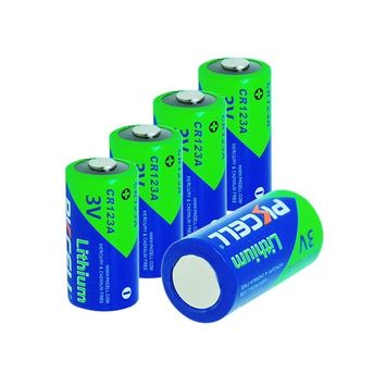 Pkcell CR123A Photo Lithium Batteries for Streamlight Flashlights
