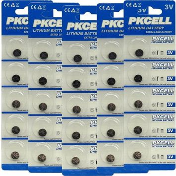 25 Quantity: CR927 Button Coin Cell Batteries Lithium Metal Manganese Dioxide 3.0v in Retail Blister Pack Cards, ship from USA,Brand PK Cell