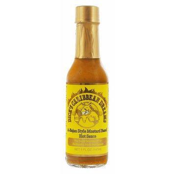 Dirty Dick's Hot Sauce - Caribbean Dreams A-Bajan Style Mustard Based Hot Sauce 5 Oz, white, XX-Large [Caribbean Dreams]