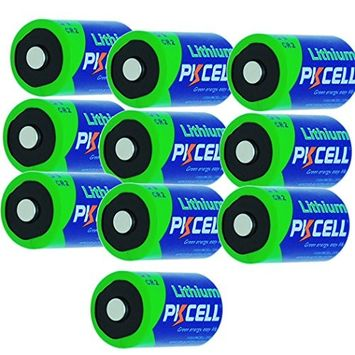 pkcell CR2 CR15H270 3v 850mAh Lithium Battery For Range Finder (10pc in bulk)