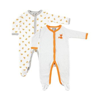 Luvable Friends Sleep and Play, 2-Pack, 0-9 Months