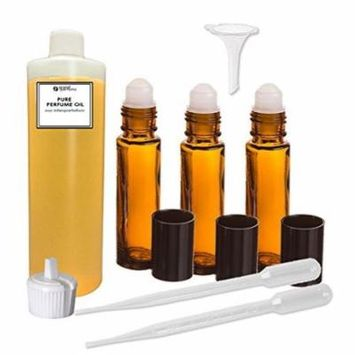 Grand Parfums Perfume Oil Set - Legacy (Coach) For Women Type - Our Interpretation, with Roll On Bottles and Tools to Fill Them (1 Oz)