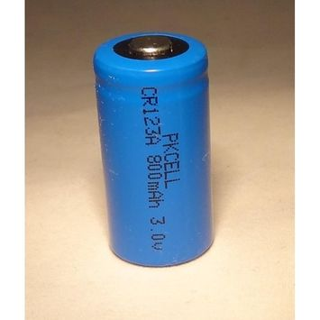 One (1) New CR123A CR123 CR 123A 3.0V 3V BT Lithium Battery PKCELL, ship from USA,Brand PK Cell