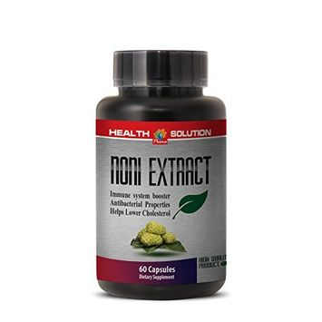 Noni leaf power - NONI 8:1 CONCENTRATE 500MG - strengthen the nervous system (1 Bottle)