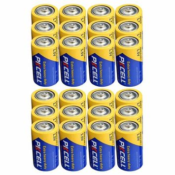 D Size Battery Extra Heavy Duty R20P UM1 1.5V Battery Count Pcs (24) Pack
