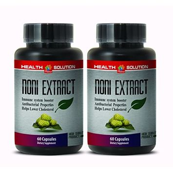 Noni extract - NONI 8:1 CONCENTRATE 500MG - boost the immune system (2 Bottles)