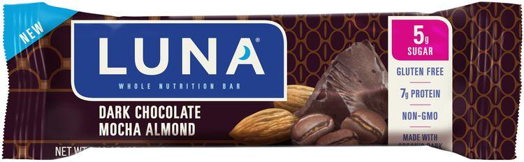 Luna Dark Chocolate Mocha Almond Nutrition Bar