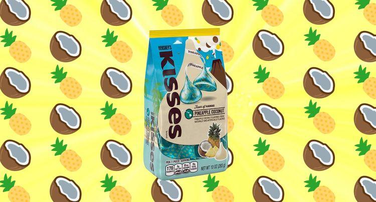 Let's Discuss: Pineapple Coconut Hershey Kisses