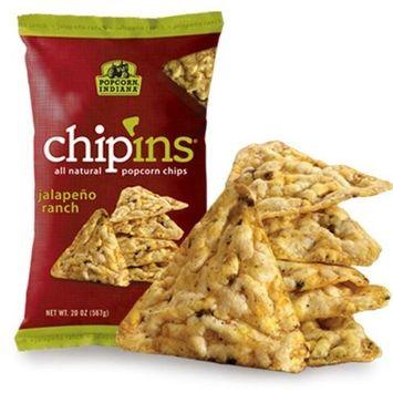 Popcorn Indiana Chip'ins Jalapeno Ranch Popcorn Chips