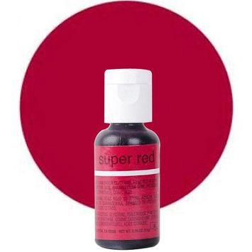Chefmaster Liqua-Gel Super Red .70 oz CM5136