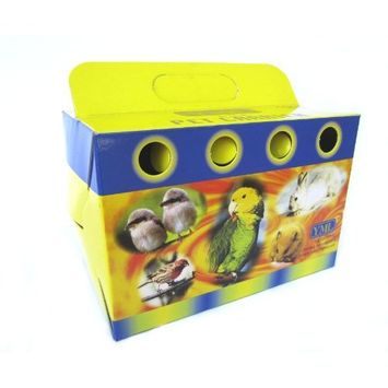 YML 8101 Cardboard Carrier for Small Animals or Birds, Small, Lot of 100