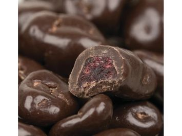 Beulah's Candyland Dark Chocolate Covered Dried Cranberries 5 pounds