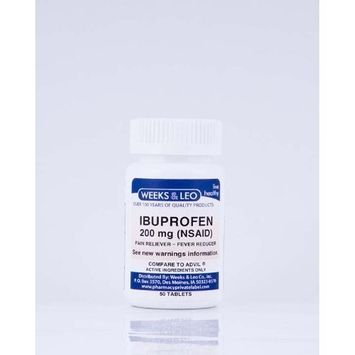 Pain Tablet -Ibuprofen 200 mg(Advil and Motrin Generic) 100 count