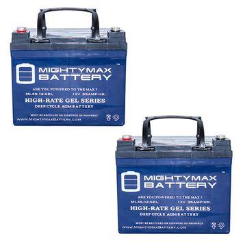 12V 35AH GEL Battery for Invacare Pronto M50, M51, M61, M71 - 2 Pack
