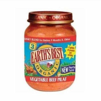 12 Pack : Earthsbest Vegetable Beef Pilaf-junior