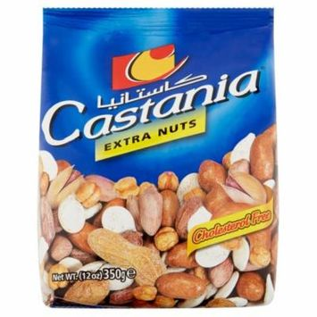 Castania Nuts Mixed Extra,350 Gm (Pack Of 10)