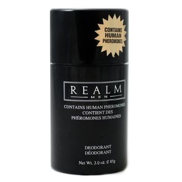 Realm By Erox Corporation for Men. Deodorant Stick 3.0 Oz (Pack of 3)
