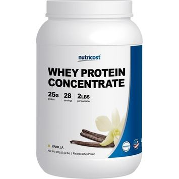 Nutricost Whey Protein Concentrate (Vanilla) 2LBS