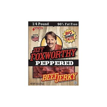 Trails Best Jeff Foxworthy Peppered Jerky