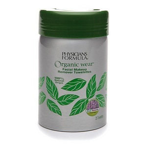 Organic Wear® Facial Makeup Remover Towelettes
