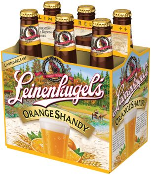 Leinenliugel's Lemon Summer Shandy Traditional Weiss Beer with Lemonade and Blackberry Juice