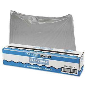 Boardwalk 7229 PVC Food Wrap Film Roll, 24