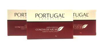 Portugal Cosmetics Concha De Nacar Jabon - Mother Of Pearl Soap Value Pack