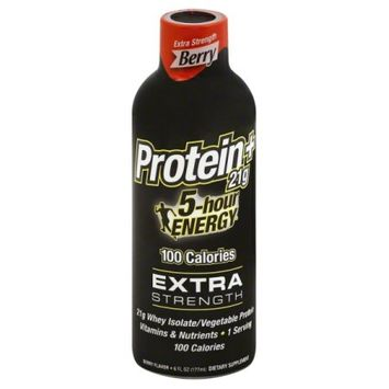 5 Hour Energy/cnp Professional 5 Hour Energy Extra Strength With Protein, Berry, 6 Pack