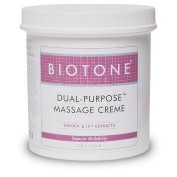 Biotone Dual-Purpose Massage Creme, 36 Ounce