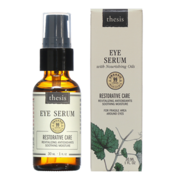 Organic Eye Serum - Prevent and Smooth Fine Lines, Puffiness, Premature Wrinkles Under and Around Eyes - Raw Argan Rosehip rich in Natural Anti Aging Vitamin A, E - Pure, Gentle for Sensitive Eye Skin