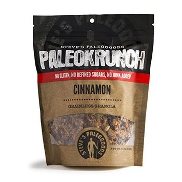 Steve's PaleoGoods, PaleoKrunch Cereal Cinnamon, 7.5oz