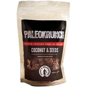 Steve's PaleoGoods, PaleoKrunch Cereal Nut-Free Coconut & Seeds Chocolate Sea Salt, 7.5 oz