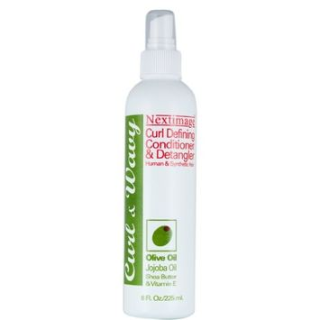 Next-Image Curl N Wavy Detangling Conditioner 8 oz. (Pack of 2)