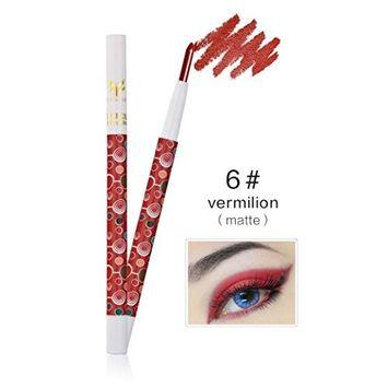 Eye Shadow Pen, Hometom Beauty Pro Highlighter Eyeshadow Pencil Cosmetic Glitter Eye Shadow Pen (F)