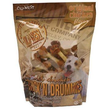 Old West West Original Chicken Drummies Dog Treats, 16-Ounce