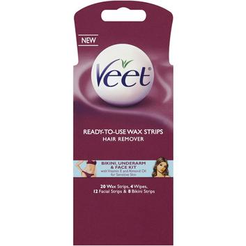 Veet Body/Bikini/Face Wax Kit