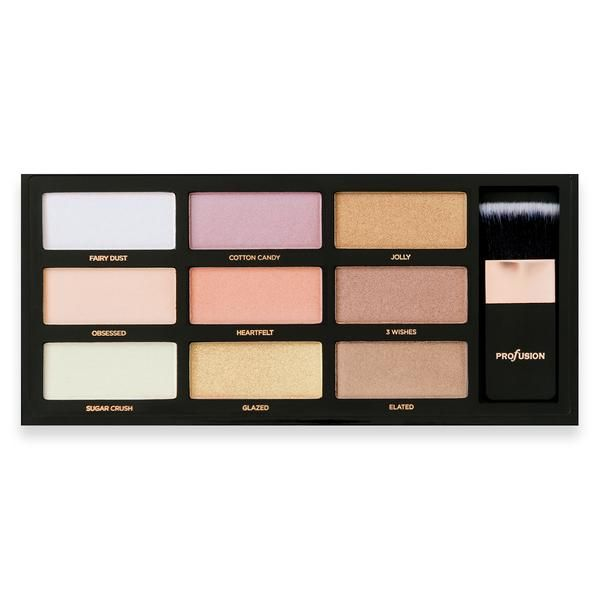 Profusion Cosmetics Strobe & Glow the Artistry Palette