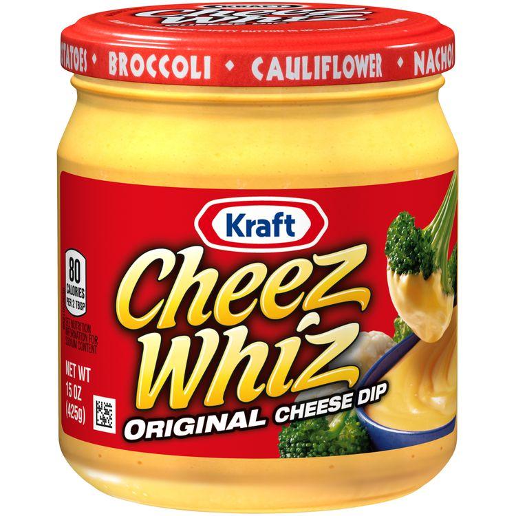 Cheez Whiz Original Plain Cheese Dip