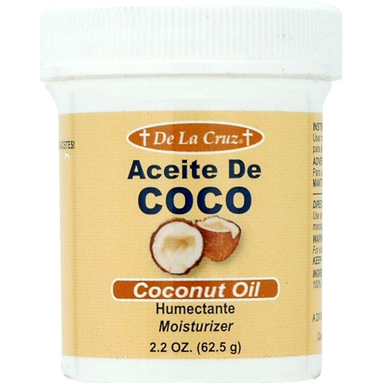 De La Cruz Products Inc De La Cruz Aceite De Coco Humectante Coconut 2.2 Ounce Jar