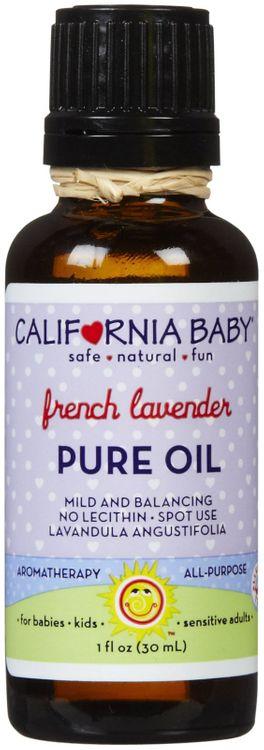 California Baby Pure Oil - French Lavender - 1 oz