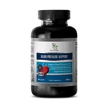 Blood pressure health - BLOOD PRESSURE SUPPORT - Energy pills for men - 1 Bottle 60 Capsules