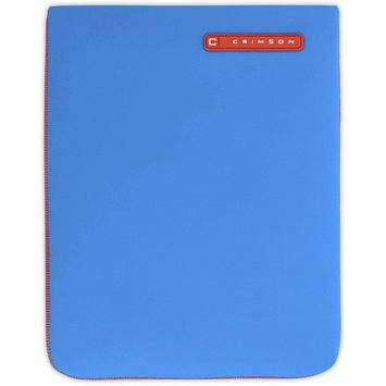 CRIMSON Blue Neoprene Sleeve for iPad 2, 3, 4 CRIMSON Blue Neoprene Sleeve for iPad 2, 3, 4