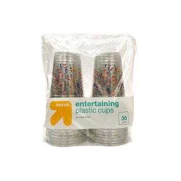 Up & Up Confetti Entertaining Disposable Cups - 30ct - Up&Up