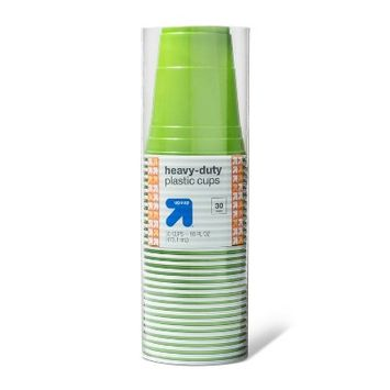 Up & Up Heavy Duty Disposable Plastic Cup - 30ct - Up&Up