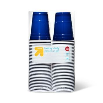 Up & Up Blue Disposable Plastic Cups - 72ct - Up&Up