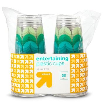 up & up Polka Dot Disposable Plastic Cups 30 ct