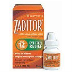 Zaditor Eye Drops Zaditor Ketotifen Fumarate Ophthalmic Solution For Eye Itch Relief