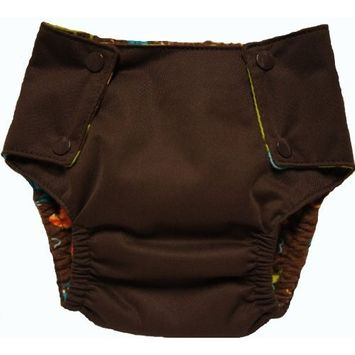 Kissaluvs Kissa's Waterproof 3T Pocket Training Pants, Chocolate