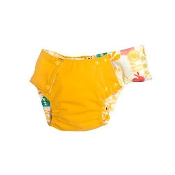 Kissaluvs Kissa's Waterproof 2T Pocket Training Pants, Gold (Discontinued by Manufacturer)